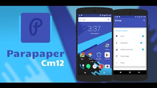 Parapaper Free CM12 Theme Review!