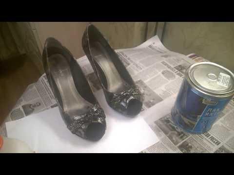 реанимируем туфли своими руками