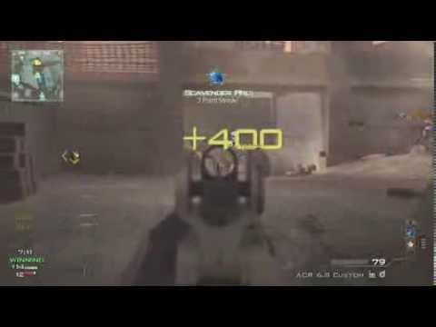 5 Man ACR Spray - MW3 Game Clip