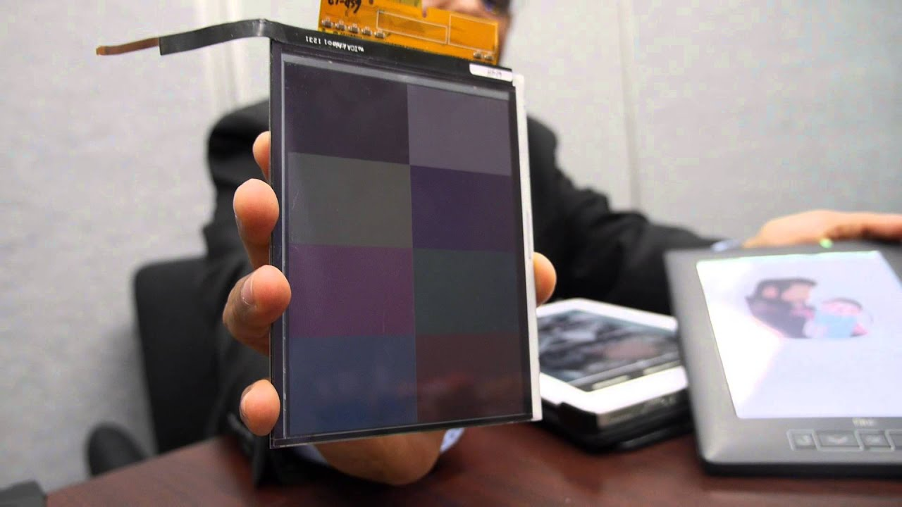 E-paper, copier technology, prototype color e-paper, electrochromic layers, transparent electrode, e-paper