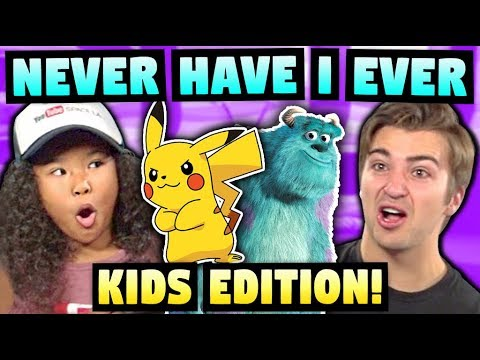 NEVER HAVE I EVER ft. KIDS REACT CAST