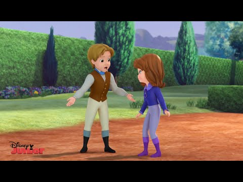 Sofia The First | When You Wish Upon A Well | Royal Obstacle Course | Disney Junior UK HD thumbnail