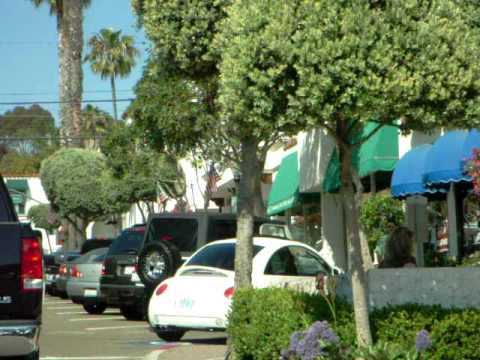 driving around in san clemente california