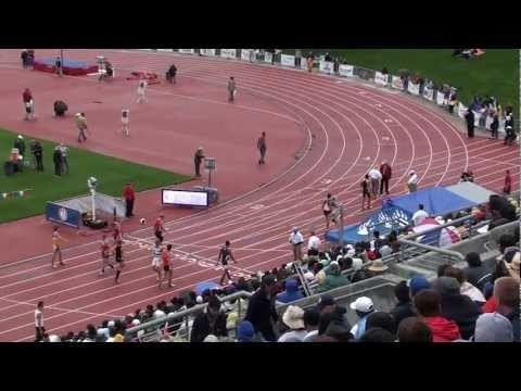 2011 CIF State Meet Boys 1600m Final (Jantzen Oshier 4:00.83!)