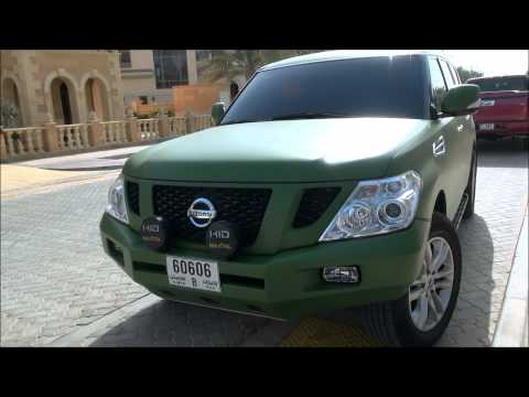 Unique Colored 2012 Nissan Patrol in Dubai. U.A.E Full HD!!!