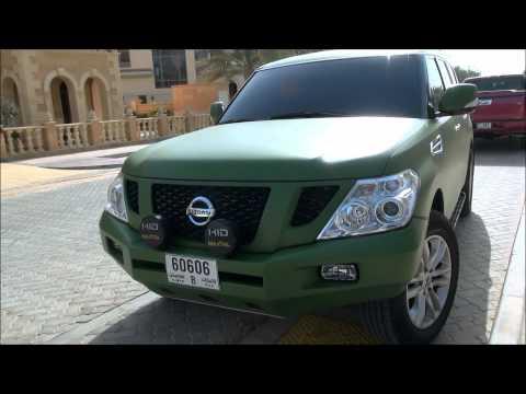 Unique Colored 2012 Nissan Patrol in Dubai, U.A.E Full HD!!!