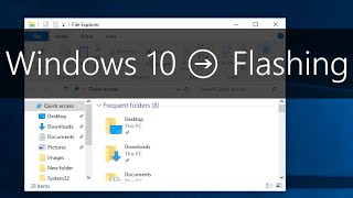 Windows 10 - How to Fix Screen Flashing and Flickering Issue