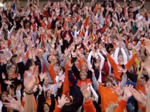 Fallston High School Flash Mob Coming 2009 I Gotta Feeling