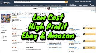 Top 10 Low Cost, High Profit, Small items to sell on Ebay amp Amazon.