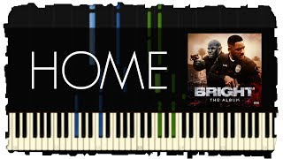 Download Lagu Machine Gun Kelly - Home | Piano Tutorial | Synthesia Gratis STAFABAND