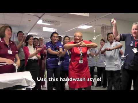 Use This Handwash Style! (Barnet and Chase Farm Hospitals)
