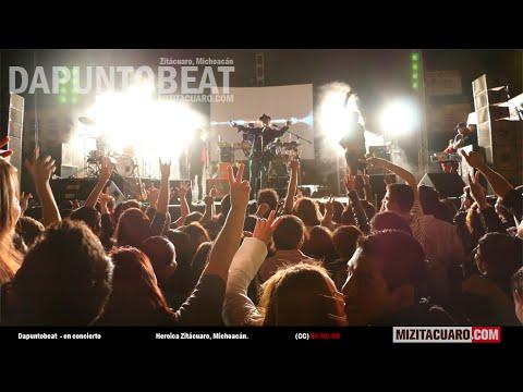 Dapuntobeat en concierto en Zitácuaro