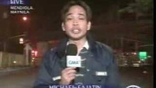 Confused Filipino Reporter