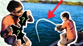 Catching 2 FISH with 1 LURE CHALLENGE!!