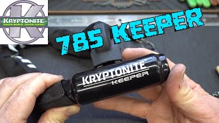 (1444) Kryptonite Keeper 785 Bike Lock