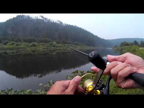 рыбалка на реке волгуша