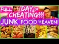 FULL DAY Of CHEATING: JUNK FOOD HEAVEN! Nicole Collet