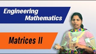 MATRICES (Part II) :Best Engineering Mathematics Tips (AU,JNTU ,GATE,Delhi University)