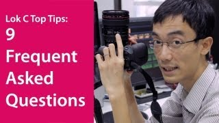 Lok C HDSLR Top Tips: 9 FAQs