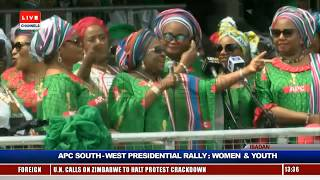 Women, Youths Take APC Presidential Rally To Ibadan Pt.7 |Live Event|