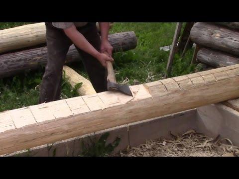 Как сделать сруб для бани своими руками из бруса