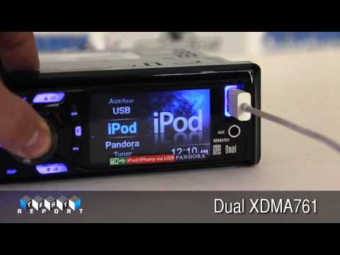 Dual XDMA761 CD Receiver