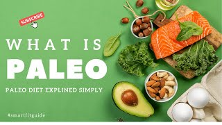 WHAT IS PALEO | Paleo Diet Explained Simply - Paleo Diet for Beginners - How to Begin Eating Paleo