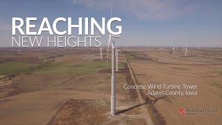 MidAmerican Energy Company Concrete Wind Turbine