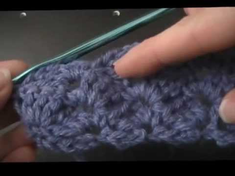Crochet Box Stitch Tutorial from Needlers - YouTube