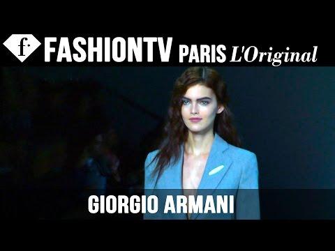 Giorgio Armani Fall/Winter 2014-15 FIRST LOOK | Milan Fashion Week | FashionTV