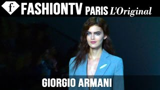 Giorgio Armani Fall/Winter 2014-15 EXCLUSIVE | Milan Fashion Week | FashionTV