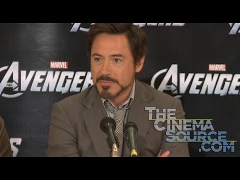 The Avengers Interviews with Robert Downey Jr., Chris Evans, Chris Hemsworth, Mark Ruffalo
