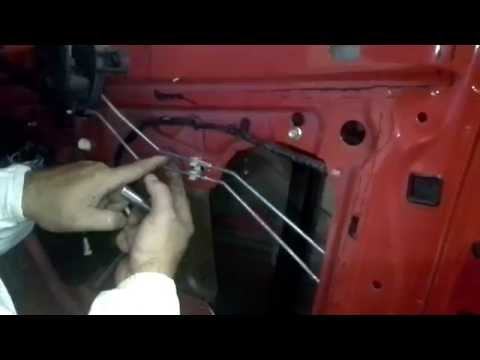 Remove and Install Window Regulator On A Grand Am
