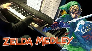 Zelda Piano Medley (Ocarina of Time Nostalgia Edition)