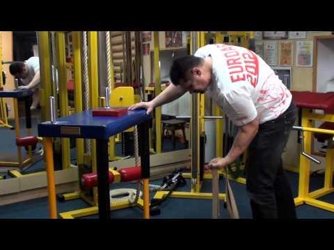 Тренировка пронатора ч. 2 (Training of Armwrestling (Pronator))