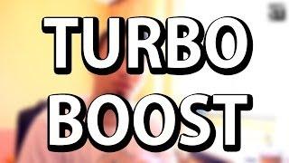 Sta znaci turbo boost kod procesora