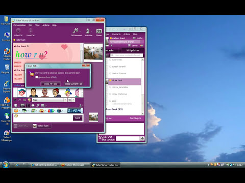 Yahoo Messenger tutorial