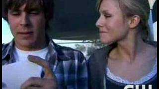 Kristen Bell & Chris Lowell Candid Video