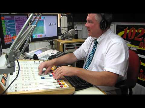 Ron Sedaille on 102.9 WDRC FM - VIDEO AIRCHECK July 21, 2012