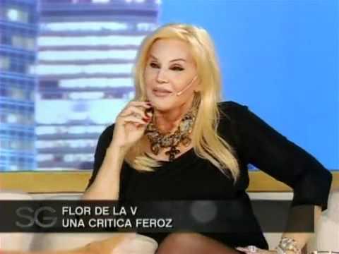 Florencia de la V con Susana Gimenez (19/05)