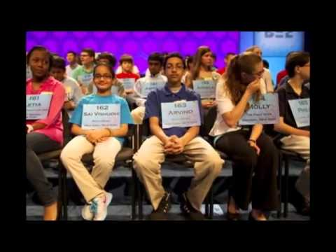 13 yr old Arvind Mahankali Win the Scripps National Spelling Bee