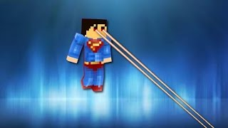 Superman in vanilla Minecraft | ONLY ONE COMMAND BLOCK  (1.8)