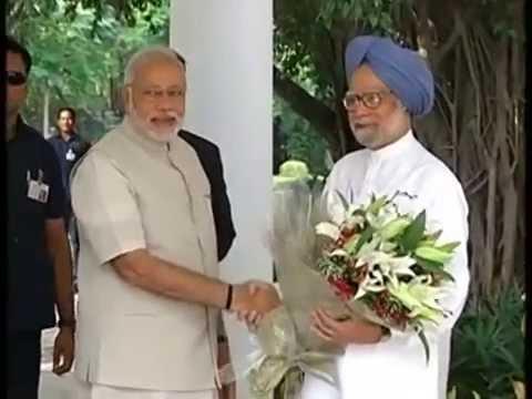PM Narendra Modi meets Dr. Manmohan Singh