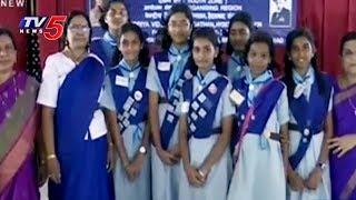 Scouts and Guides Selection at Hyderabad Kendriya Vidyalaya for President Puraskar