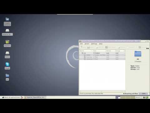 Cómo instalar OpenOffice en Debian