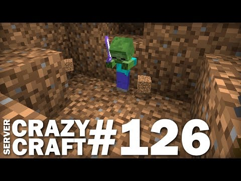 MINECRAFT - Wacky Zombie Time - CRAZY CRAFT #126 - Lets Play - Xbox / MCPE / Ps4 / Windows 10
