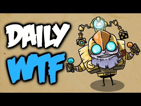 Dota 2 Daily WTF - Lich's Nightmare