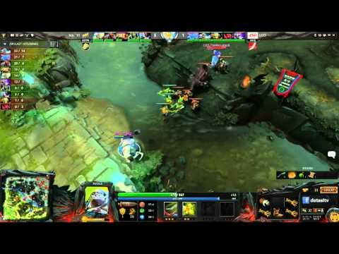 Na`Vi vs LGD.cn, TI3 Group A, game 2