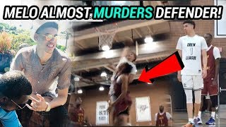 LaMelo Ball Is ANGRY!! Is He Out To Prove He's The BEST At The Drew!? 😡