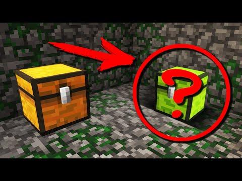 Minecraft: 10 ЛУЧШИХ способов спрятать сундук!